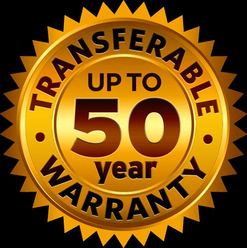 warranty up to 50 years - Monteciano Steel Roofing Tiles