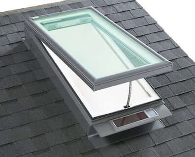227387-Velux_solar_powered_curb_mounted_skylight_on_comp_shingle_roof